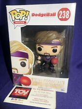 Funko Pop! w/ Protector- Dodgeball White Goodman 238 Ben Stiller