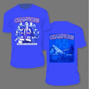 Rangers 55 titles League Winners Glasgow Rangers Champions T shirt