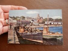 Cloch Liath Dublin  TRAWLER FISHING ORIGINAL OLD POSTCARD   GIFT POTENTIAL