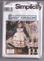 DAISY KINGDOM 7304 Child's Dress & Pinafore Sewing Pattern Sz 3 4 5 6 UNCUT