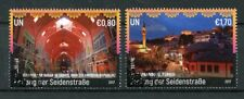 United Nations UN Vienna 2017 CTO UNESCO Along Silk Roads 2v Set Tourism Stamps