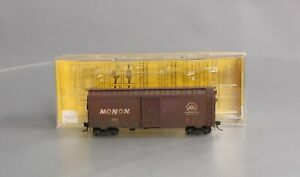Weathered Kadee 4013 HO Scale Monon 40' PS-1 Single 6' Door Boxcar #843/Box