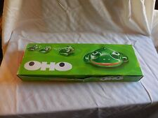 Vintage Oho Frog Lehmann #912 Friction W Germany 12 Toys in Original Box