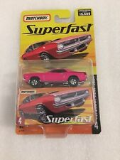 MATCHBOX SUPERFAST PLYMOUTH HEMI CUDA 1 OF 15,500 H7778 Brand New In Package