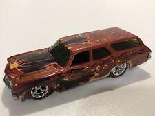 Hot Wheels 70 1970 Chevy Chevelle SS Wagon Wayne's Garage Chevrolet Car w/RRs