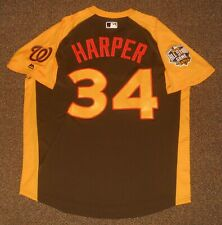 Bryce Harper 2016 ASG Authentic Jersey sz 48 Majestic Washington Nationals