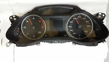 #130 Audi A4 B8 Speedometer instrument panel clock (2009) 8K0920980N OM
