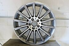 "1 Genuine Original Mercedes C Class W205 19"" Alloy Wheel AMG Front Grey Diamond"