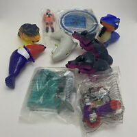 9x McDonalds Happy Meal Toys Bundle Job Lot Joblot Figures - Some New & Sealed