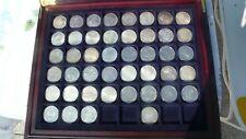 Sammlung Silbermünzen BRD 5,00 DM  komplett, 43 Münzen