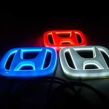 4D HONDA CAR BADGE LED LIGHT For Accord Pilot Jazz Civic Hrv Crv Fit Odyssey
