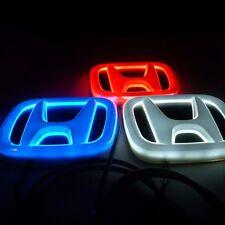 4D HONDA CAR BADGE LED LIGHT For Accord Pilot Jazz Civic Hrv Crv Fit Odyssey