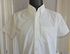 Abercrombie & Fitch Men's White Casual Shirt Short Sleeves Size S