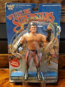 "Brutus Beefcake 8"" Wrestling Superstars WWF 8"" MOSC 1985 Titan Sports Figure"