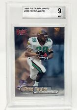 Fred Taylor Rookie | 1998 Fleer Brilliants | BGS Mint 9 | Jaguars | Card #139