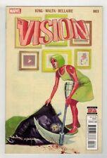 THE VISION #3 - MIKE DEL MUNDO COVER - MARVEL COMICS/2016