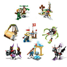 8pcs/lot SD3000 Ghost Tribe Cartoon Building Blocks Bricks Sets Model Toys