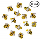 EnewLife 30 Pcs Creative Decorative Cute Bees Thumb Tacks ThumbNails P