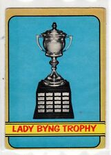 1X LADY BYNG TROPHY 1972 73 O Pee Chee #168 VGEX OPC Lots Available