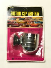 Nos Suction cup ashtray Hollywood accessories original