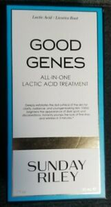 Sunday Riley Good Genes All-in-one Lactic Acid Treatment - brand new in box