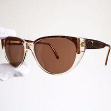 occhiali da sole TRUSSARDI 209 56-14 lunettes sunglasses montatura tru di oro
