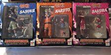 Naruto/ Sasuke / Sakura/ Set Of 3 By MegaHouse/ Action Figure