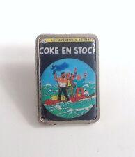 Pin's Tintin couverture album ETAT NEUF