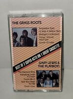NO JUNK Cassette The Grass Roots / Gary Lewis & The Playboys LIKE NEW 😎🎵 ✔👍