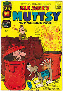 Sad Sack's Nuttsy The Talking Dog Issue 77