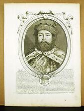 Iean-Michel Vicomte de Cigala Turc Mahomet fils de Scipio XVII LARMESSIN Gravure