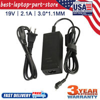 For Acer Chromebook CB3-111 CB3-131 CB5-132T Ac Charger Adapter w/ Power Cord