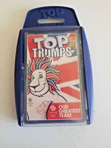 NEW SEALED TOP TRUMPS GOLDEN CARD PACK TEAM GB OLYMPICS 2012