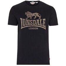Lonsdale Herren-T-Shirts mit Rundhals keine Mehrstückpackung
