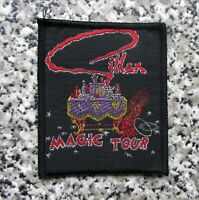GILLAN MAGIC TOUR VINTAGE SEW ON PATCH FROM THE 1980's ROCK HEAVY METAL