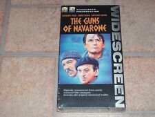 NEW The Guns of Navarone (Widescreen Edition) [VHS]