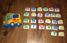 Leap Frog Magnetic School Bus 26 Letters Alphabet Refrigerator Phonics
