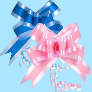 10Pcs Pull Bows 36.5Mm Wedding Car Gift Wrap Ribbon Florist Waterproof Decor