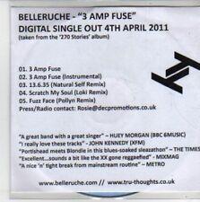 (CH656) Belleruche, 3 Amp Fuse - 2011 DJ CD
