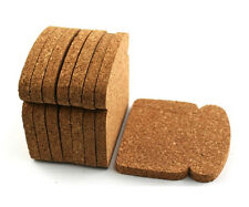 Design Ideas TOAST IT Cork Drink Coasters, Set of 8 Protects from moisture/heat