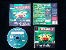 JEU Sony PLAYSTATION PS1 PS2 : SCRABBLE (SLES-03751 COMPLET envoi suivi)