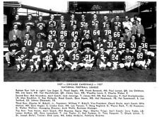 8X10 PHOTO OF1957 CHICAGO CARDINALS FOOTBALL TEAM GLOSSY PHOTO