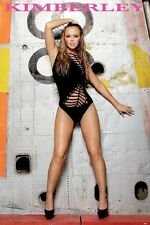 GIRLS ALOUD ~ KIMBERLEY WALSH BLACK 24x36 POSTER Music NEW/ROLLED!