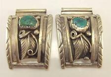 Turquoise Watch Band Components Wb 925 Sterling Silver Native American