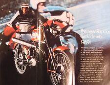 1969 Harley Davidson Rapido 125cc Original Brochure