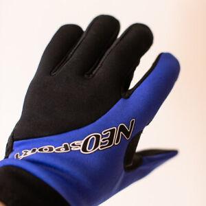 NeoSport 2mm Watersport Sport Glove - Blue/Black