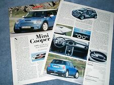 """2003 Mini Cooper S Info Article """"BMW Installs Forced Air in its Oxford Saltbox"""""""