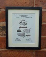 Brevetto disegno Cork Screw Extractor BOTTIGLIA CUCINA VINTAGE STAMPA MONTATA 1928
