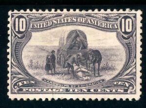 USAstamps Unused FVF US 1898 Trans-Mississippi Hardships Scott 290 OG MHR