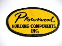"""PROWSWOOD BUILDING COMPONENTS SEW ON ONLY PATCH 3 3/4"""" x 2"""" oval"""